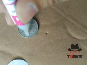 DIY fidget spinner tanpa bearring