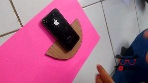DIY phone holder